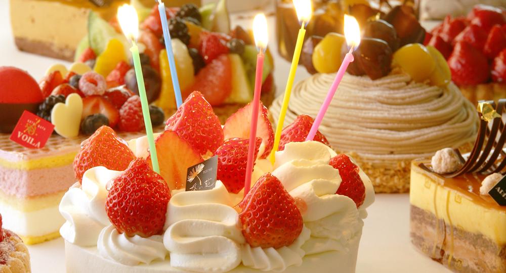 お誕生日ケーキ | ヴォアラ(VOIL...